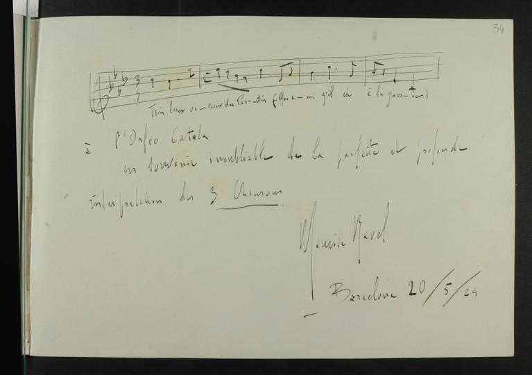 Signatura de Ravel